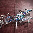 The disappearing carousel horses by Christina Brundage