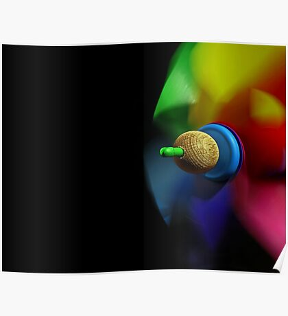 Multicolored dynamics Poster