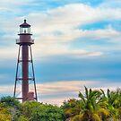 Lighthouse on Sanibel Island by Kenneth Keifer