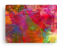 I was dreaming of the disco nights Canvas Print