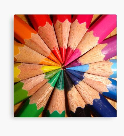In order to have friendship you must look past the color to the soul, because within the soul lies a rainbow of many colors - Lyman Frank Baum Canvas Print