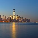 lower Manhattan One World Trade Center by pmarella