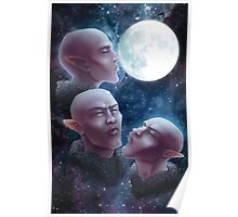 Three Elf Moon Poster
