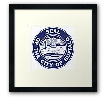Seal of Buffalo, New York  Framed Print