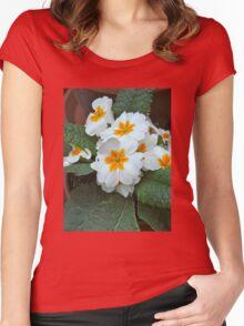 Precious Primrose Women's Fitted Scoop T-Shirt