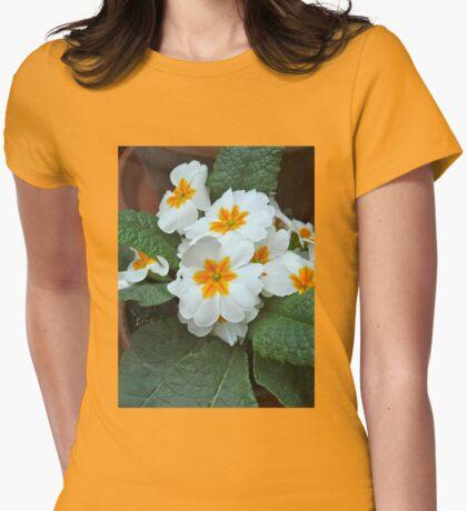 Precious Primrose Womens Fitted T-Shirt