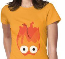Calcifer's Curse (No BG) Womens Fitted T-Shirt