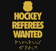 Hockey Refs Wanted by jephrey88