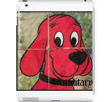Clifford- Exmilitary (Death Grips) iPad Case/Skin