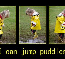 I can jump puddles by Clare Colins