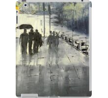Rainy City Street iPad Case/Skin