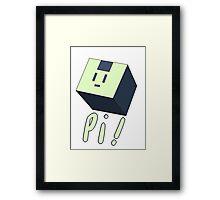 Usagi Modoki Cube Framed Print