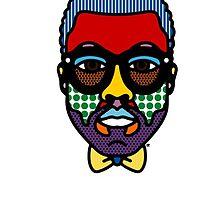 Yeezy Pop Art by Zeke Sallee