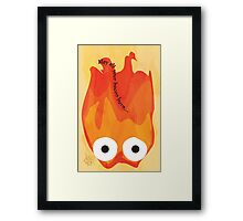Calcifer's Curse Variant Framed Print