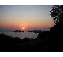 Acapulco Bay Sunset Photographic Print