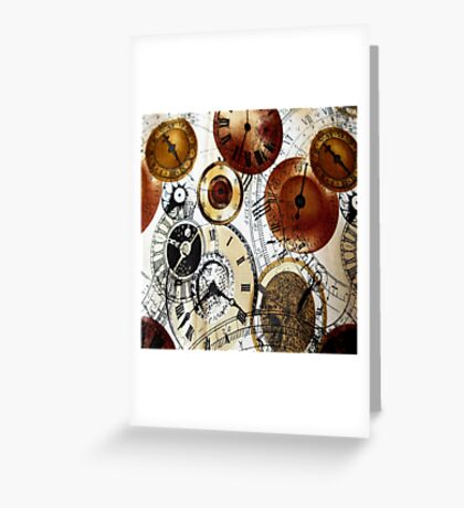 Time 2 Greeting Card