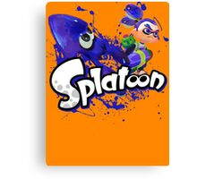 Splatoon - Inkling  Canvas Print