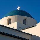 Greek Orthodox Church, Santa Barbara, California by Eyal Nahmias
