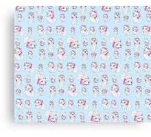 Marie Pattern - The Aristocats Canvas Print