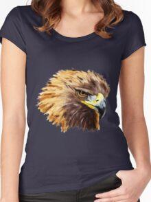 Golden Eagle (Shirt) Women's Fitted Scoop T-Shirt