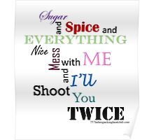 sugar and spice b Poster