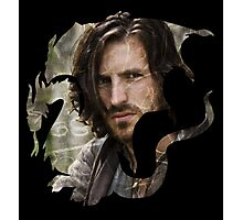 Merlin- Gwain Camelot Crest Photographic Print