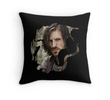 Merlin- Gwain Camelot Crest Throw Pillow