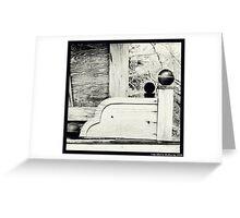 Gipsy Wagon Greeting Card