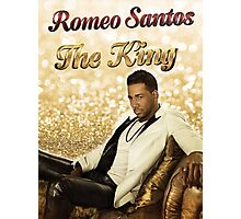 """THE KING"" of Bachata 5th - Romeo Santos  Photographic Print"