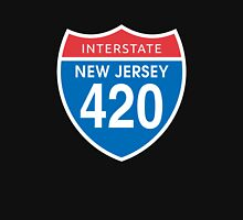 New Jersey 420 Day US Interstate Highway Sign Unisex T-Shirt