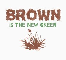 Brown Is The New Green Kids Tee