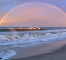 Rainbow Surfer by David Turton