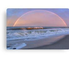 Rainbow Surfer Canvas Print