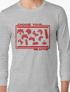 Choose Your Weapon Video Game T-Shirt