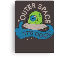OUTER SPACE! Canvas Print