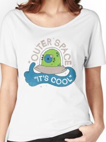 OUTER SPACE! Women's Relaxed Fit T-Shirt