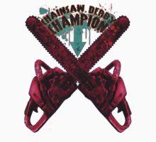Chainsaw Derby Champion Kids Tee