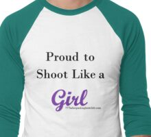 like a girl Men's Baseball ¾ T-Shirt