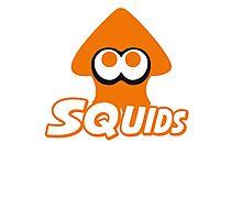 Splatoon - Squids Photographic Print