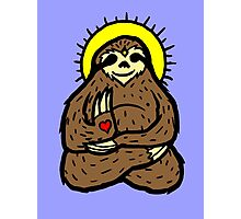 buddha Sloth Photographic Print
