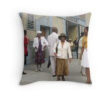 Shiloh Babtist Church Throw Pillow