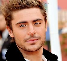 zac efron by lilaferraro