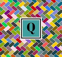 Q Monogram by piedaydesigns