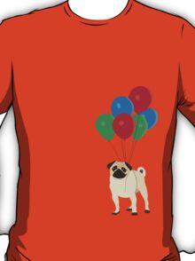 Balloon Pug T-Shirt