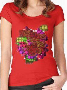 Geometry Women's Fitted Scoop T-Shirt