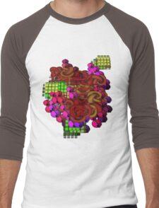 Geometry Men's Baseball ¾ T-Shirt