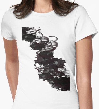 Swirling Mist Womens Fitted T-Shirt