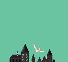 Hogwarts Illustration by DesignsByAND