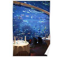 Underwater Dinning - Burj Al Arab Poster