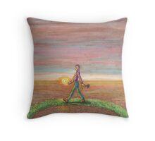 09 - Hermit Throw Pillow